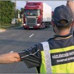 Mostantól menet közben is tetten érik, és büntetik a kamionsofőröket! Új módszert vezet be a hatóság!